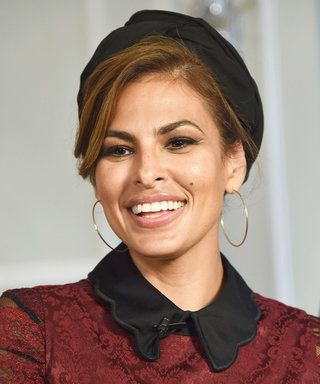 Eva Mendes Smolders in Head-to-Toe Lace at Her New York & Company Runway Show