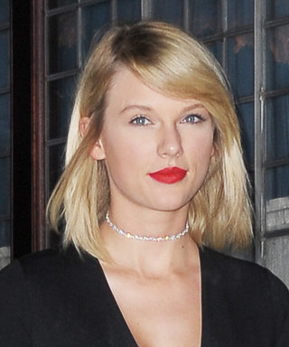 Newly-Single Taylor Swift Parties in a Chic Black and White Number with BFF Lily Aldridge