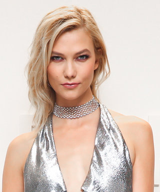Karlie Kloss's Sultry Silver Gown at Tom Ford Deserves a Standing Ovation