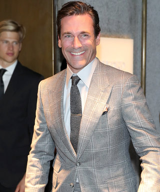 Jon Hamm Looks Sharper Than Ever Channeling Mad Men in a Tom Ford Suit