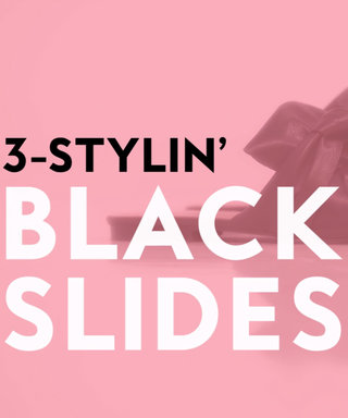 VIDEO: 3 Flawless Ways to Wear Flat Slides
