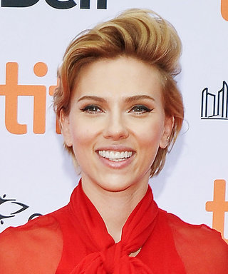 Scarlett Johansson Was Red Hot at the TIFF Premiere of Her New Movie Sing