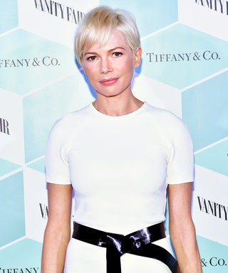 Michelle Williams's Asymmetrical LWD Brings Fantasy to Life