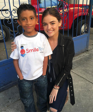 "Get an Exclusive Look Inside Lucy Hale's ""Life-Changing"" Trip to Mexico City with Smile Train"
