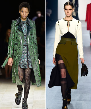 8 Fun Runway-Inspired Tights That Are Unlike Anything You Own