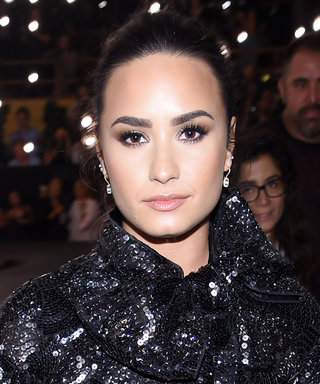 Demi Lovato Sparkles at Marc Jacobs's NYFW Runway Show