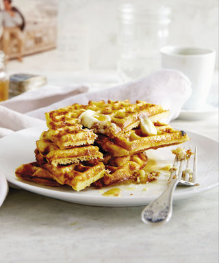 A Healthy Gluten-Free Waffle Recipe That Mom Will Love