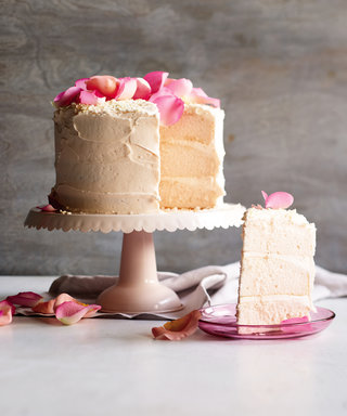 This Pretty Cake Is Literally Made with Rosé Champagne