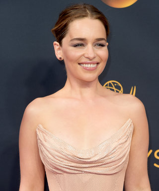 Emilia Clarke's Textured Up Do: Gorgeous and Totally Doable