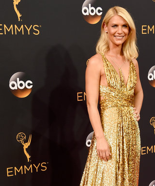 Claire Danes Didn't See Her Dress Until the Day Before the Emmys
