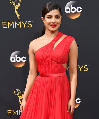 The Hot, Hot Shade That Took Over the 2016 Emmys Red Carpet
