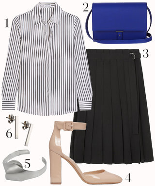 Conquer Your Next Lunch Meeting with This Killer Outfit