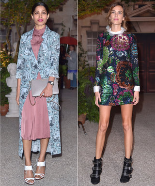 All the Stars at Burberry's London Fashion Week Runway Show