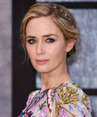 Emily Blunt Is an Alexander McQueen Princess at the London Premiere of ...  Emily Blunt
