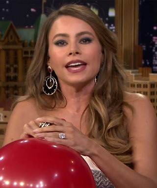 Watch Sofía Vergara Inhale Helium and Chat with Jimmy Fallon