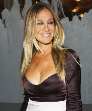 Sarah Jessica Parker Embodies Carrie Bradshaw in Floor-Skimming Narciso Rodriguez