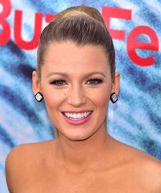 Blake Lively Plays with Her Latest Pregnancy Craving (Doughnuts!) on Set