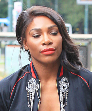 Serena Williams's Plunging Gucci Bomber Jacket Leaves Little to the Imagination