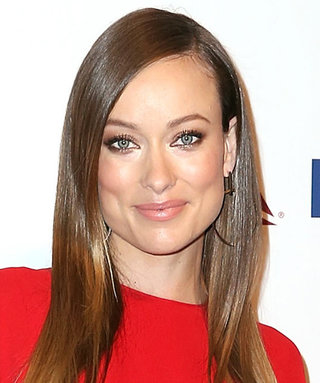 Olivia Wilde Wows Dressing Her Baby Bump in a Long-Sleeve Red Valentino Maxi