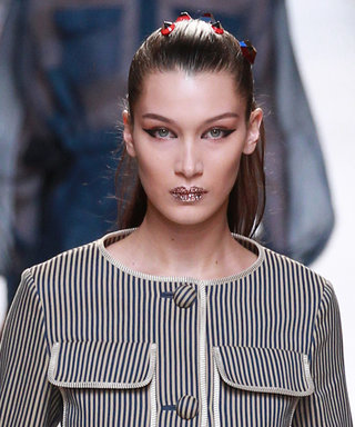 Bella Hadid Opens Fendi's #MFW Show, Big Sis Gigi Also Owns the Runway