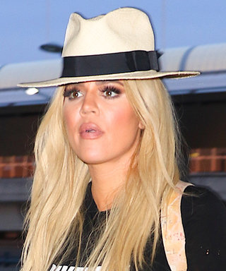 Khloé Kardashian Makes the Case for Ultra-Casual Airport Style in Fur Slides