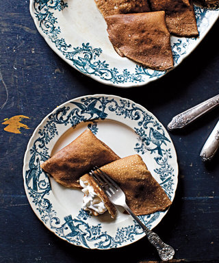 This Make-Ahead Cinnamon Crêpe Recipe Is Worth Waking Up for