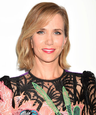 Kristen Wiig Flaunts Her Toned Legs in a Sexy Sheer Dress at the MastermindsL.A. Premiere