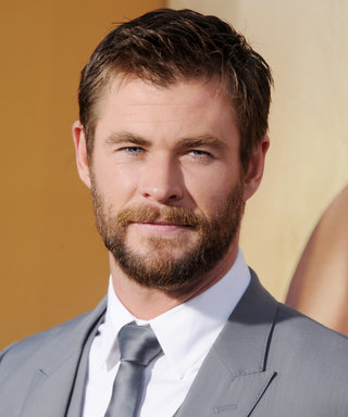 Chris Hemsworth Just Painted His Nails for the Best Reason