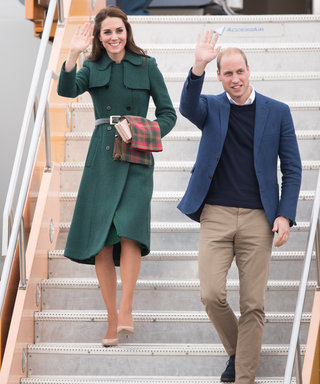 Kate Middleton Gives Us Fall Outfit Inspiration in a Tailored Emerald Green Coat
