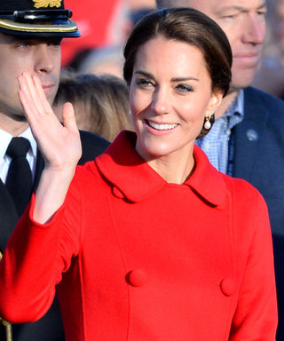 Kate Middleton Proves Red Is Definitely Her Color in a Vibrant Double-Breasted Coat