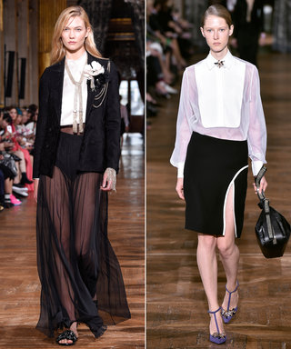 Bouchra Jarrar Melts Hearts at Lanvin, While Dries Van Noten's Heart Is Frozen