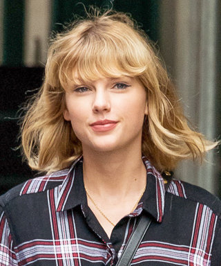 Taylor Swift Proves Plaid Is a Neutral Stepping Out in Everyone's Go-To Fall Uniform