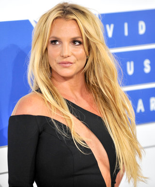 "Britney Spears Takes on London, Shares Her British Accent and a ""Very Hot"" Biker Sighting"