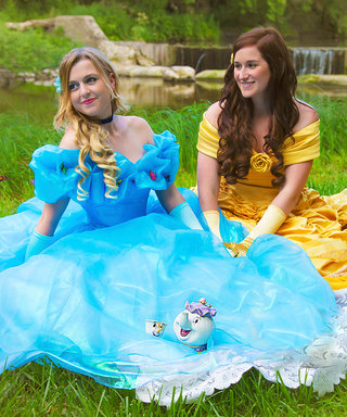 These Brides Had an Engagement Photoshoot That Is True #PrincessGoals