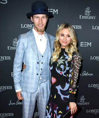 Kaley Cuoco and New Boyfriend Karl Cook Are All Smiles for Their Red Carpet Debut