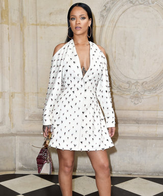 Rihanna Wows at Dior's #PFW Show with Jennifer Lawrence, Natalie Portman, and Olivia Palermo