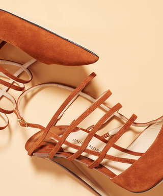 These Strappy Heels Are About to Change Your Life