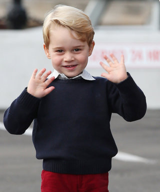 Prince George Adorably Says Goodbye to Canada by Pressing His Nose Against the Airplane Window