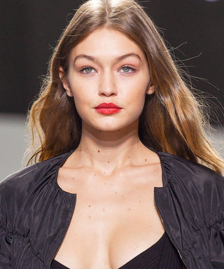 Gigi Hadid Flaunts Her Toned Physique in Lingerie on the Giambattista Vall PFW Runway