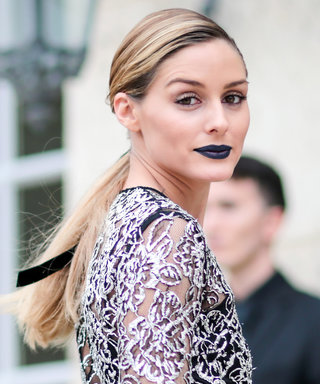 Olivia Palermo Just Made Navy Blue Lipstick Chic