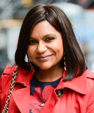 Mindy Kaling Makes Florals Work for Fall with Two Bloom-Covered Looks in N.Y.C.