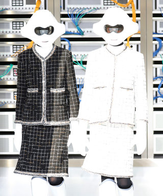 Chanel Delivers a Straightforward Fashion Show with Robots and Peppy Tweeds