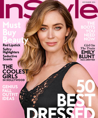 Girl on the Train Star Emily Blunt on Playing a Drunk, Overcoming a Stutter, and Keeping a Low Profile