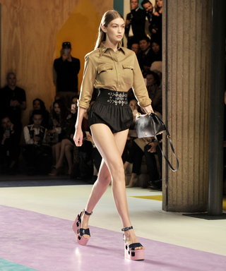 PFW Ends on a High Note: Gigi's Super-Short Bloomer Shorts