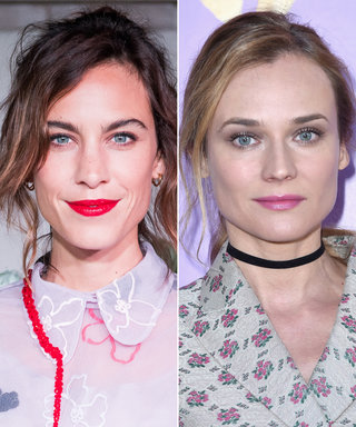 Alexa Chung and Diane Kruger Demo 2 Different Ways to Be Pretty in Pink at Miu Miu's PFW Show