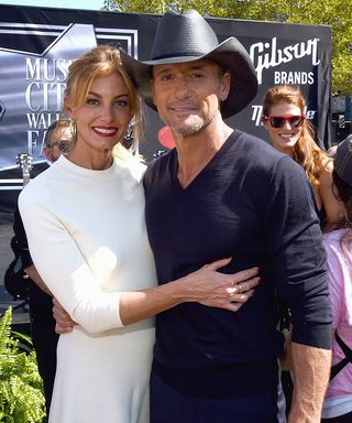 Faith Hill and Tim McGraw Commemorate Their Nashville Walk of Fame Stars with a Sweet Kiss
