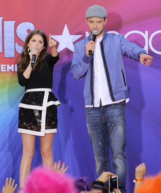 Justin Timberlake and Anna Kendrick Goof Around While Promoting Trolls in N.Y.C.