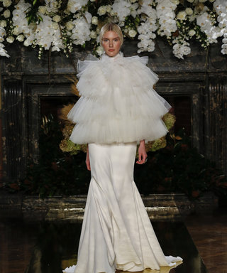 The Most Unconventional Wedding Looks at Bridal Fashion Week Fall 2017