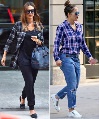 J.Lo, Kendall, and Taylor Are Mad for These Plaid Shirts—Here's Where to Buy Them