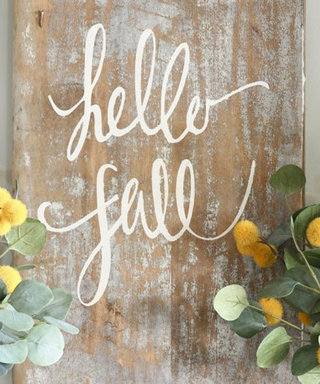 7 Creative DIY Signs to Make This Fall